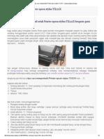 Tips Cara Memperbaiki Printer Epson Stylus TX121X - Wongcungkup Berbagi