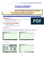 Manual de Librería 889 Cg