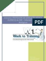 Curso Preparatório Concurso Professor de Ciências Físicas e Biológicas - SEE/SP PEB II