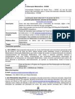 Edital 259_2014 Seleção ECEM 2015