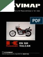 Despiece Vulcan 500 en Español