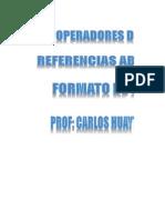 OFIMATICA - Operadores - Referencia Absoluta - Formato de Celdas