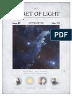 The Secret of Light Newsletter - May 2013