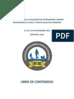 Libro Digital 1° Conferencia APDT Chile y Feria Mascotas Premium 2014