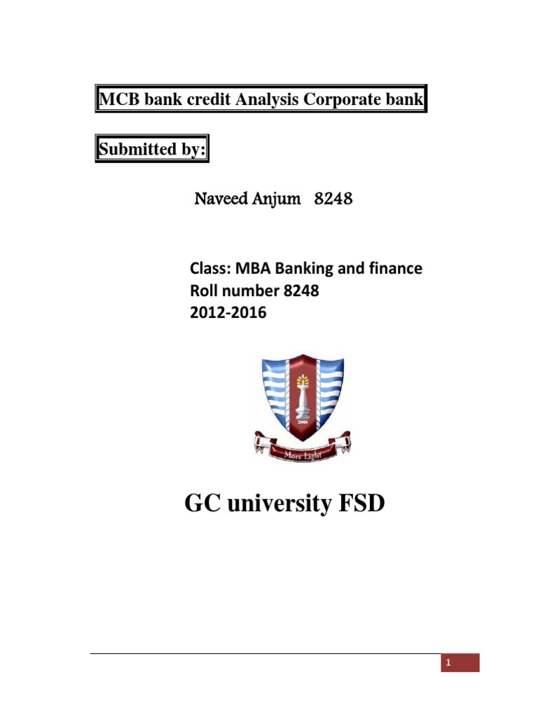 mcb bank report 2 the mauritius commercial bank ltd this report has been prepared to assist shareholders to assess the board's strategies and their potential of.