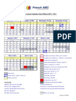 Calendrier Full Time School 10-11 English(1)