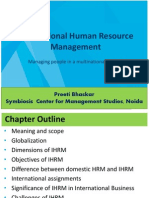 Chapter - 1 Introduction to Ihrm