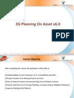 2G Planning on Asset v6.0