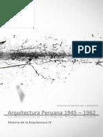 Arquitectura Peruana 1945