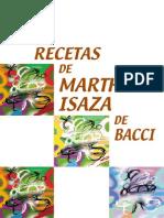 Las Recetas de Martha Isaza de Bacci