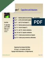 2-1 Inductores y Capacitores