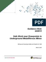 Safe Work in Mines
