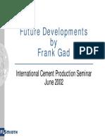 31 - Future Developments in Cement