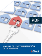 Manual de Uso y Mantencion de La Vivienda CChC1