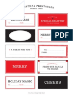 Designed It or Xmas Tags
