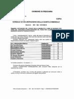 Delibera Comune Pescara Barriere Architettoniche