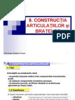 Tema 9 Constructia Articulatiilor Si Bratelor