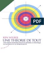 Ken Wilber - Une Théorie de Tout