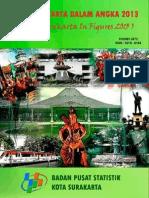Surakarta Dalam Angka 2013