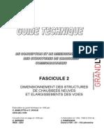 Voirie Guide Conception Structures de Chaussees