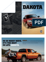 2010 Dodge Dakota eBrochure