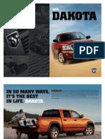 2010 Dodge Dakota eBrochure