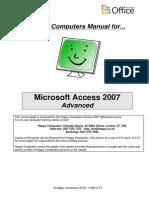 3 Access 2007 Advanced