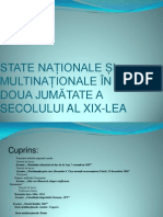 State Nationale Si Multinationale in a Doua Jumatate