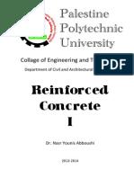 Reinforced Concrete I_2013-2014(2)
