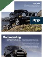 2010 Jeep Commander eBrochure