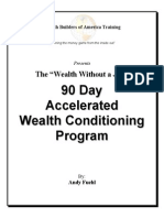 Andy Fuehl - 90 Day Accelerated Wealth Conditioning Program