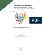 DINAMICA (Resolucion Del 1er Examen)