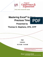 Mastering Excel to Save Precious Time