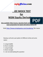Equity Derivatives NISM Free Mock test.pptx