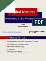 Capital Markets courese for NISM SORM Preparation