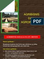 Agribisnis Dan Agroindustri