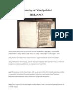Cronologia Principatului Moldova