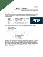 080 Formal Grammars