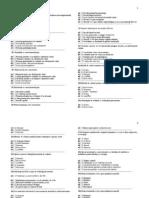 Teste, Microbiologie, Examen, Medicina Generala