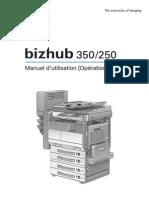Bizhub 350-250_Opérations Impression