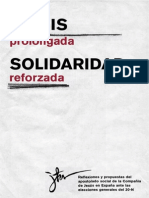 Crisis Prolongada Solidaridad Reforzada