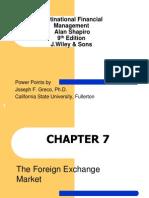 Slide Ch 7 Multinational Financial Management