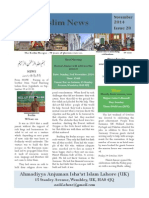 Muslim News 2014 No 28 November 2014