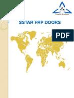 Sstar Frp Doors- Fibre reinforced plastics ,fibre-reinforced polymers ,Glass fibre reinforced polymers, composite material