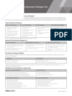 VMware VCenter Site Recovery Manager Cheat Sheet En