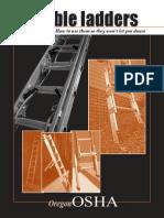 Portable Ladders - How to Use - OSHA