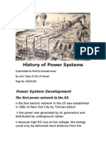 History of Power System