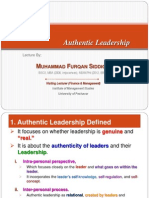 LTM Week-13 Authentic Leadership