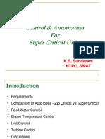 Control & Automation for Super Critical Units