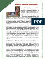 La Situación de La Mujer en El Perú